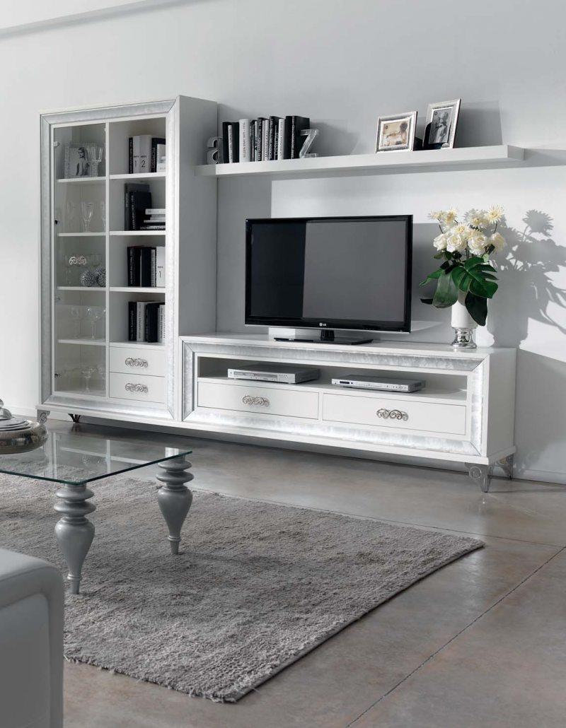 белая стенка в гостиную 82 фото красивых идей организации мебели