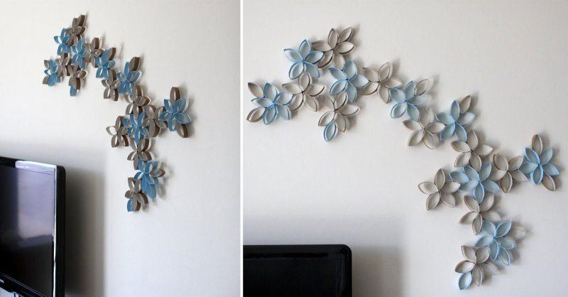 Поделки на стену из бумаги своими руками