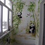 Risunki na stenah v gostinoy 12