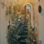 Risunki na stenah v gostinoy 23