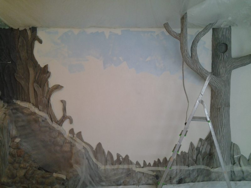 Rospis sten v gostinoy 1