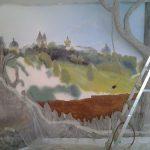 Rospis sten v gostinoy 9