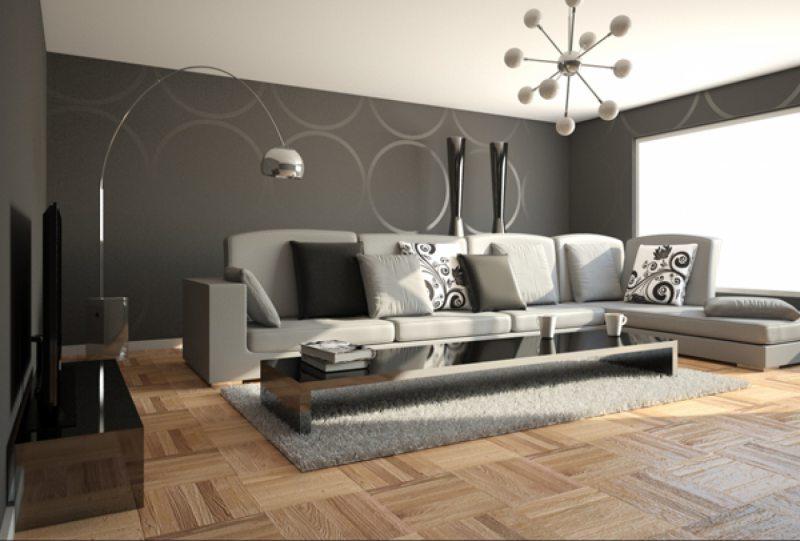 Комбинирование обоев в интерьере - 120 фото лучших идей по дизайну | 541x800
