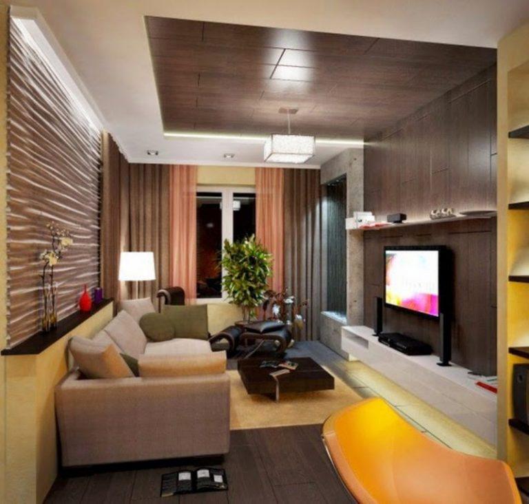 Гостиная в брежневке дизайн